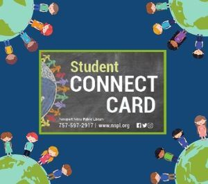 Image of new Student Connect Library Card