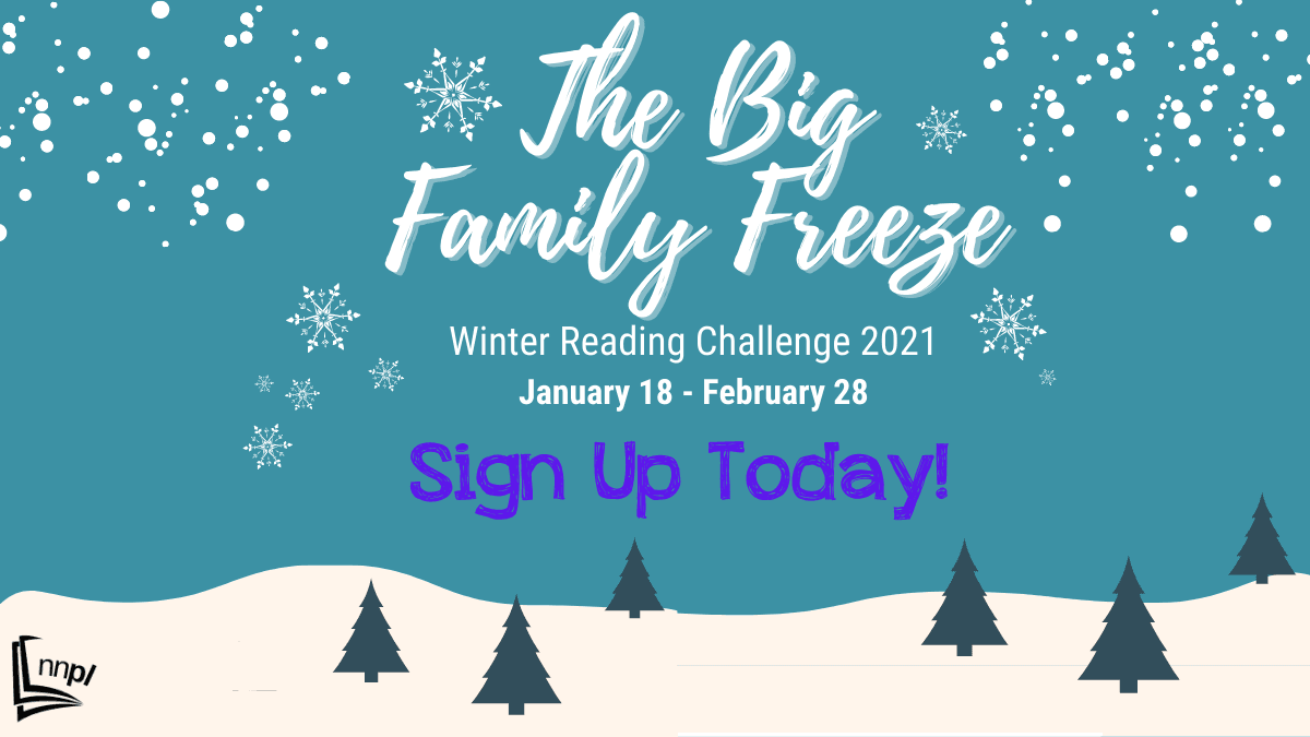 Sign up for The Big Family Freeze Winter Reading Challenge